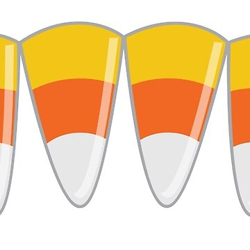 Candy corn teeth by jazzydevil