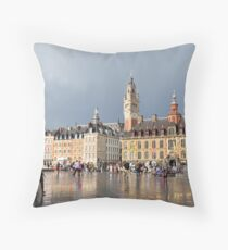 Lille, France 2 Throw Pillow