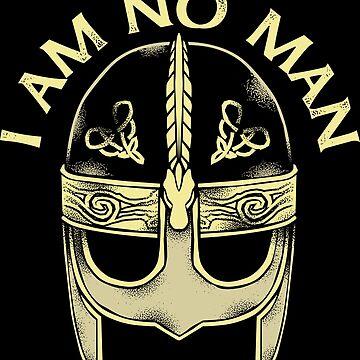 I AM NO MAN by swissarmyshark