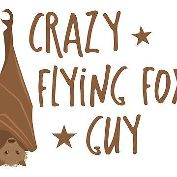 Crazy flying fox guy by jazzydevil