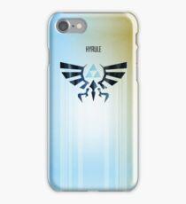 Legend of Zelda Hyrule Rising Minimal Vector Poster  iPhone Case/Skin