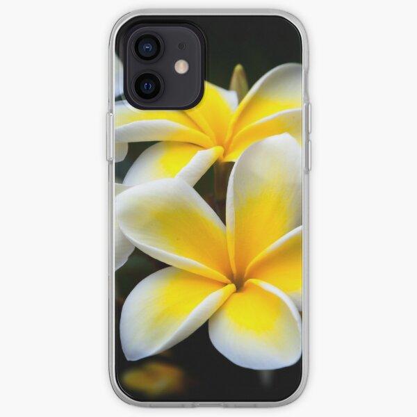 Kauai Plumeria Hawaiian Flower iPhone Soft Case