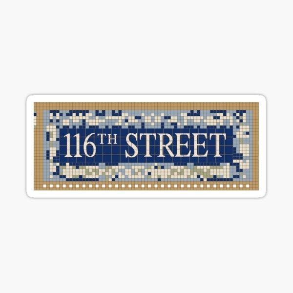 116th st y'all Sticker