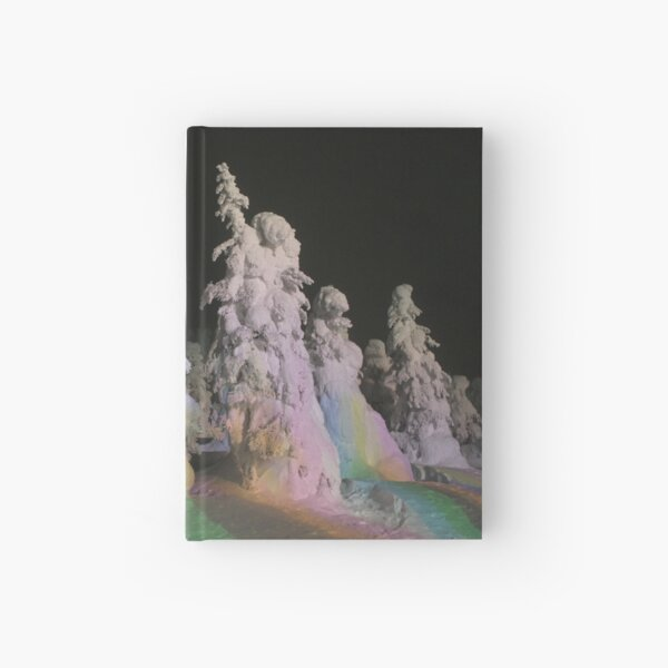 """""""Snow Monsters"""" Hardcover Journal"""