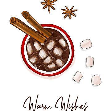 Yummy warm wishes by Milatoo