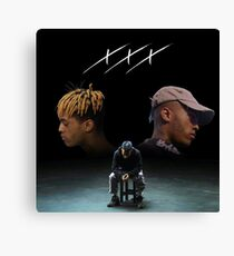 Triple X Dual Self Canvas Print