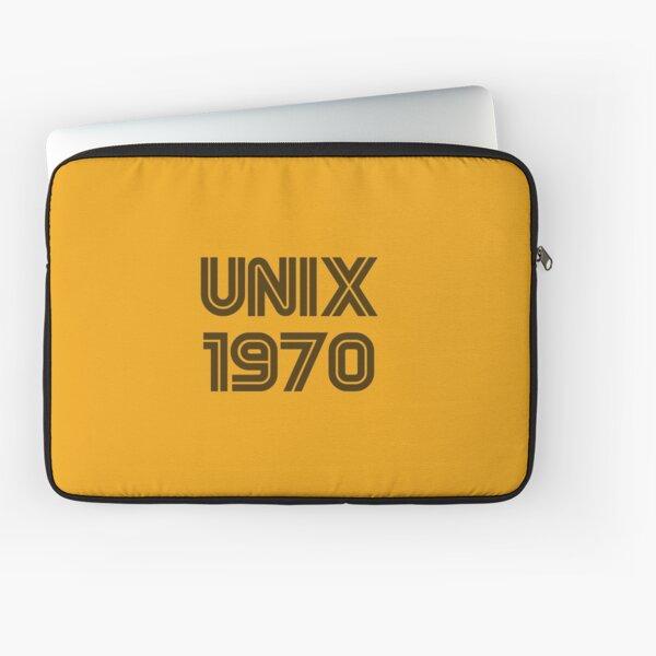 Unix 1970 Laptop Sleeve