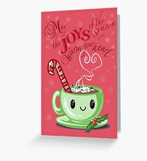 Joys of the Season Greeting Card