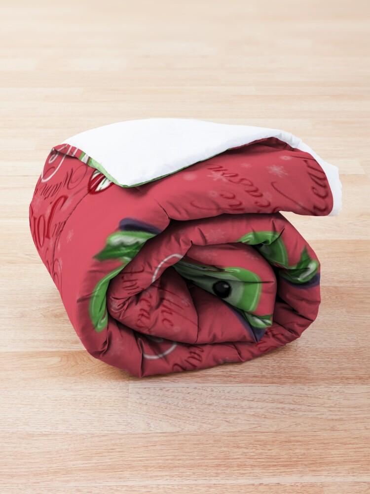 Alternate view of Joys of the Season Comforter