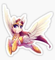 Official Buck: Legacy Alicorn Apostle Sticker, illustrated by MeekCheep Sticker