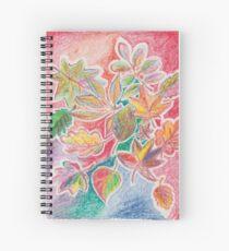 Otoño colorido Cuaderno de espiral