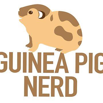 Guinea Pig Nerd by jazzydevil