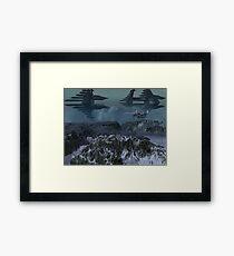 Curahee Base Framed Print