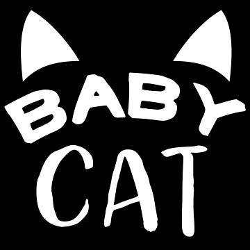 BABY CAT (with matching papa cat and mama cat) by jazzydevil