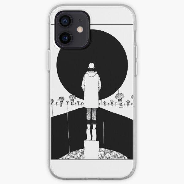 RM - mono; forever rain 1 iPhone Soft Case
