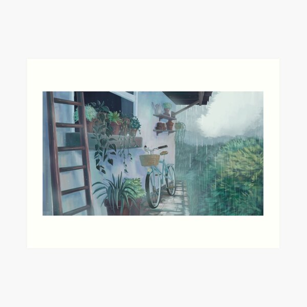 silent rain #1 Art Print