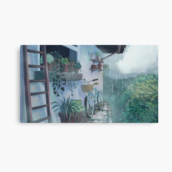 silent rain #1 Canvas Print