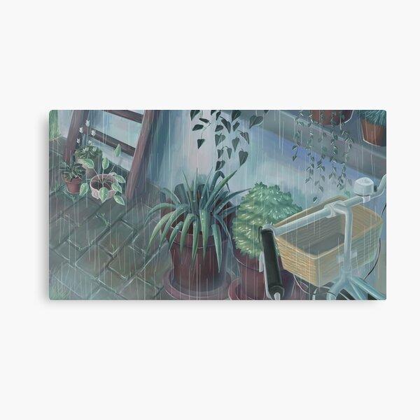 silent rain #2 Canvas Print
