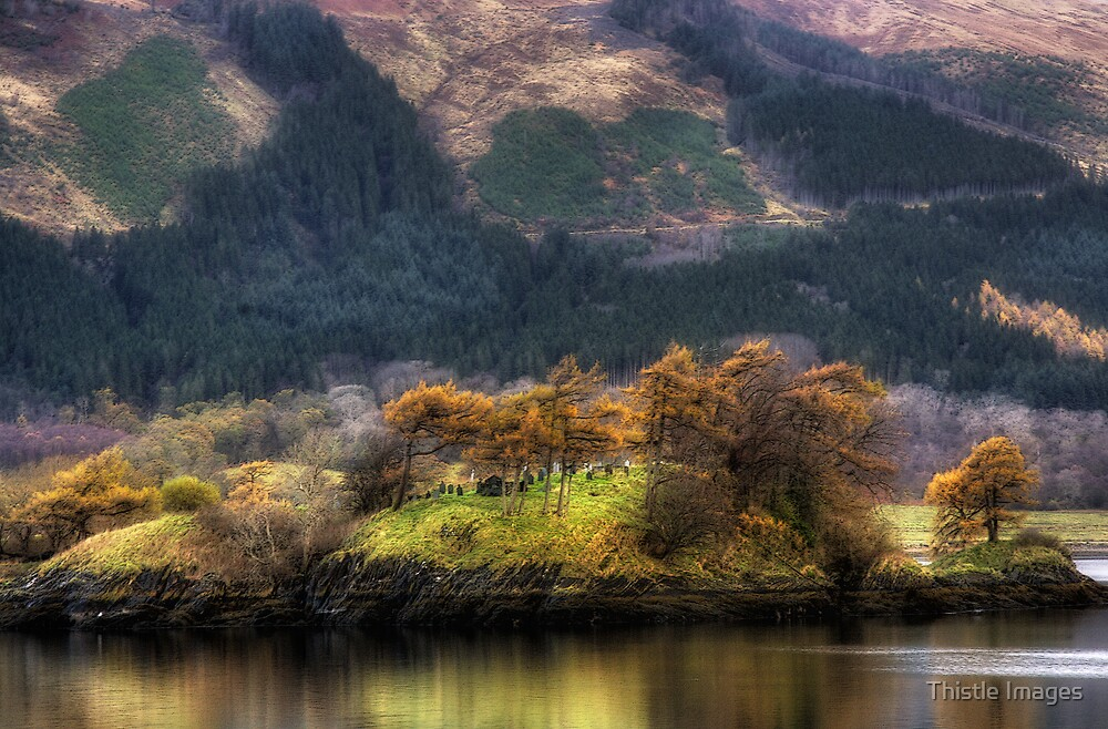 St Mungos Island by Thistle Images