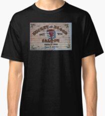Bucket of Blood Saloon 1876 Classic T-Shirt