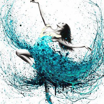 Teal Dancer by AshvinHarrison