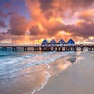 Busselton Jetty at Sunrise by Paul Pichugin