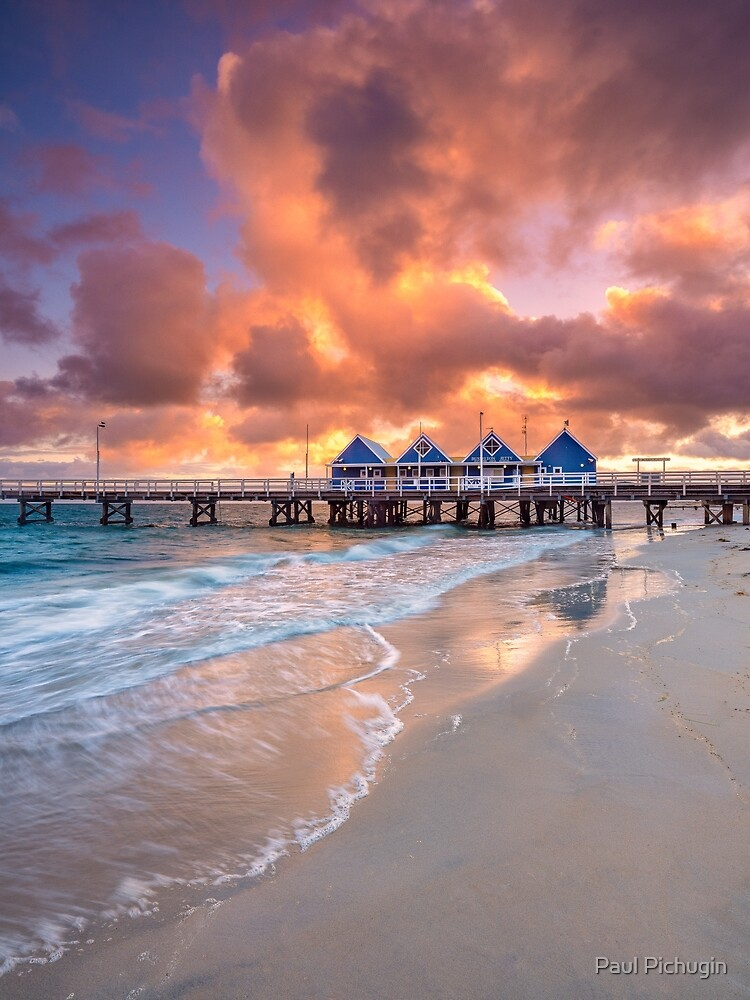 Busselton Jetty at Sunrise by paulmp