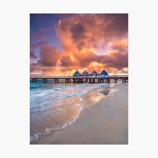 Busselton Jetty at Sunrise Photographic Print