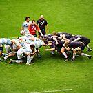 The Scrum: England V Argentina Nov 2009 by DonDavisUK