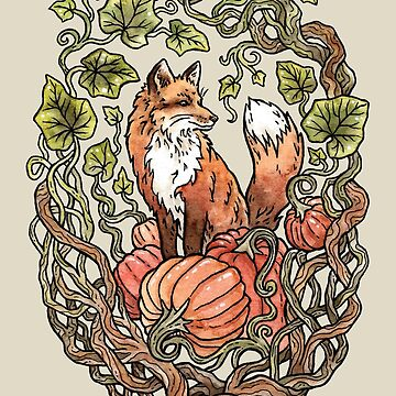 Autumn Fox by OMEGAFAUNA