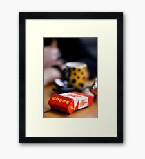Double Addiction II Framed Print