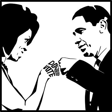DON'T BOO, VOTE: Obama Fist Bump by carbonfibreme