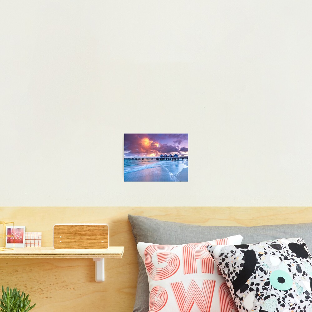 Busselton Jetty Sunrise Photographic Print