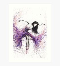 Coral Ballet Dance Art Print