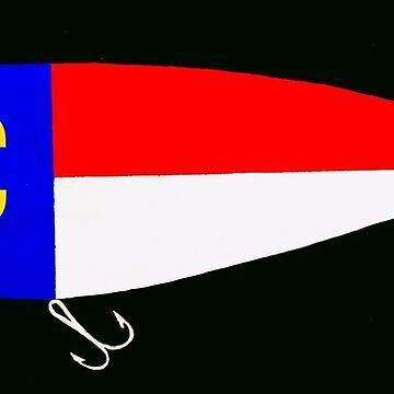 NC fishing lure by barryknauff