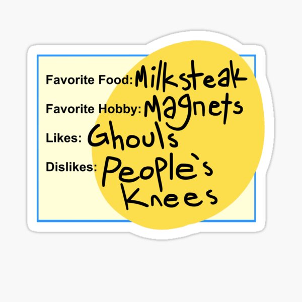 Charlie's Dating Profile Sticker