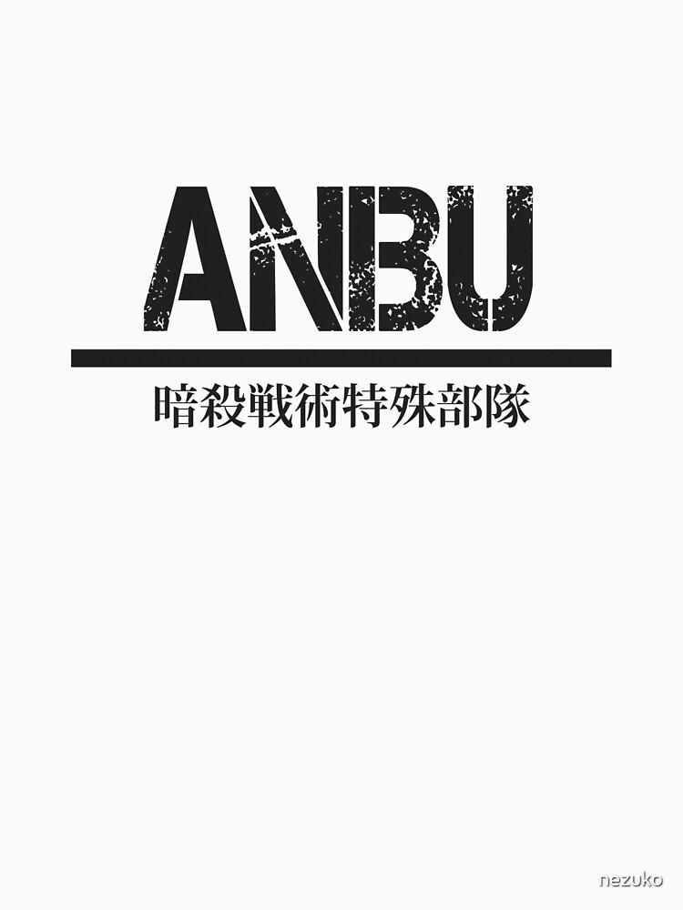 ANBU full kanji— Black by nezuko