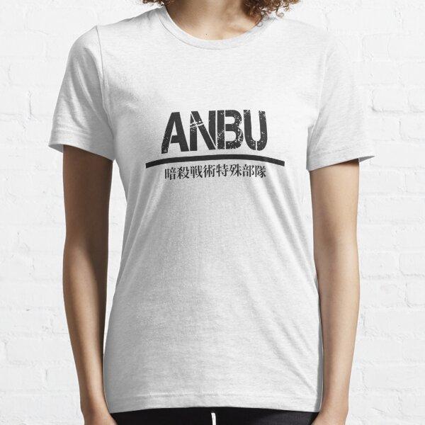 ANBU full kanji— Black Essential T-Shirt