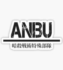 ANBU full kanji— Black Sticker