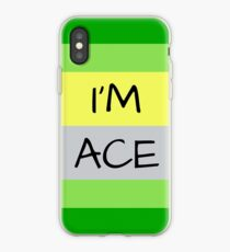 AROMANTIC FLAG I'M ACE ASEXUAL T-SHIRT iPhone Case