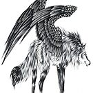 Wolf Winged by michele8889