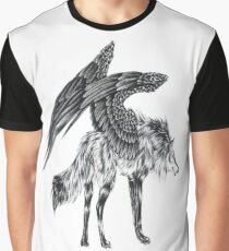 Wolf Winged Graphic T-Shirt