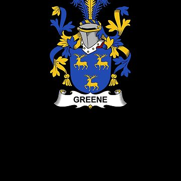 Greene Coat of Arms - Family Crest Shirt by FamilyCrest