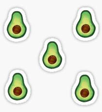 Avocado, Avacado, Avocado T-shirts Sticker