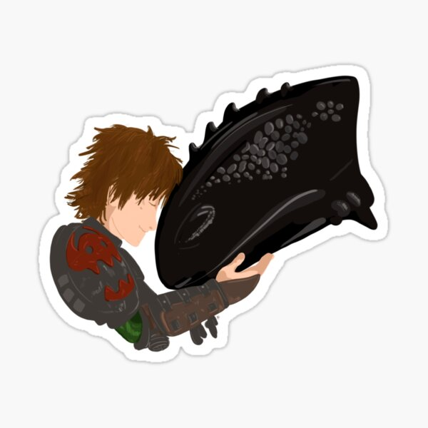 How to Train Your Dragon, Hiccup and Toothless Sticker