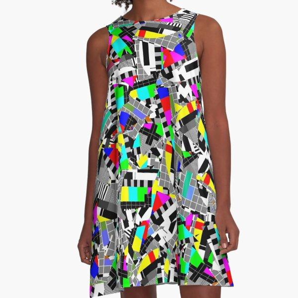 TV test image A-Line Dress