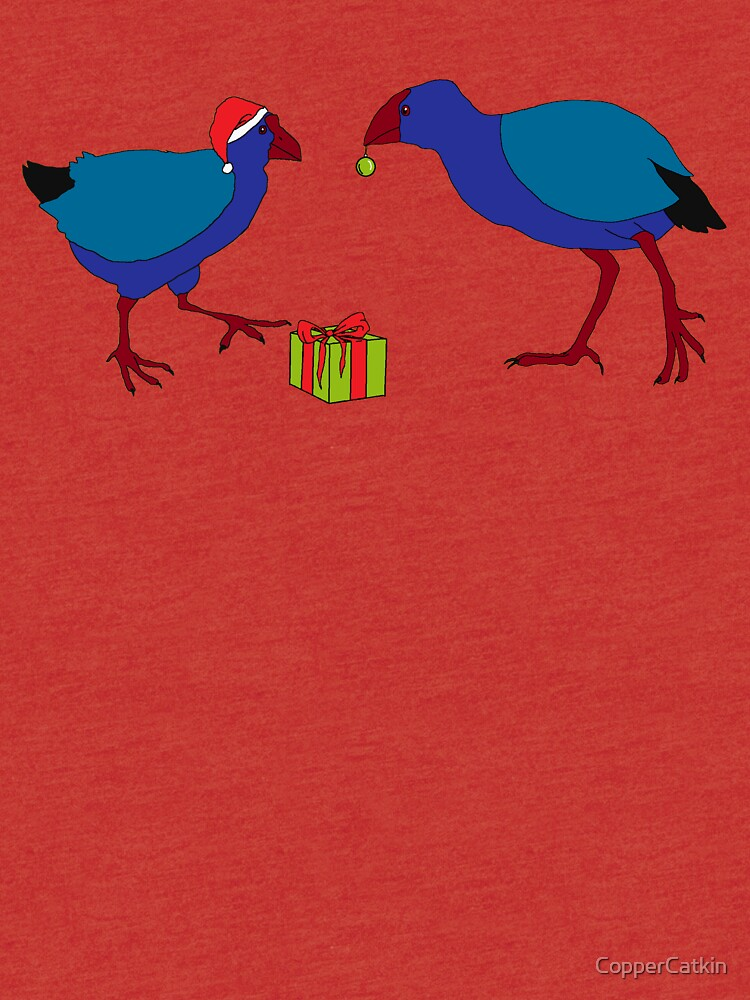 Pukeko and Takahe Party - Green by CopperCatkin