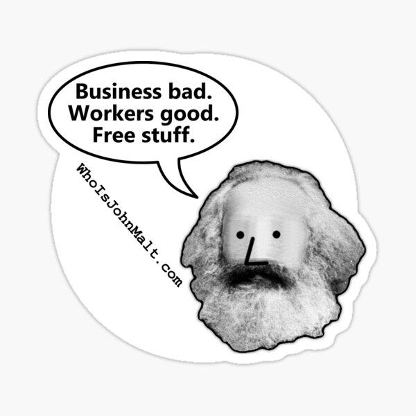 NPCarl Marx Sticker