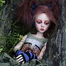 Deep in the woods (Contemplation) by David Ballard