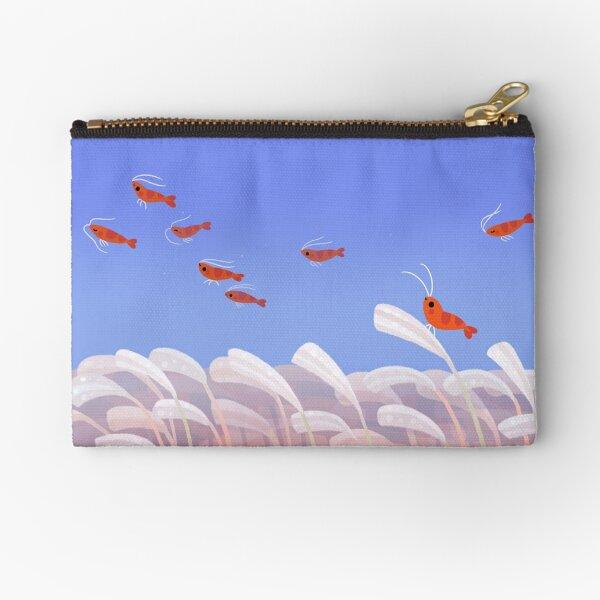 Flying cherry shrimp  Zipper Pouch